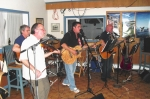 The English Harbour Kitchen Party Band in action.